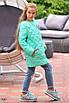 Куртка детская удлиненная на заплепках плащевка+синтепон 134,140,146,152, фото 8