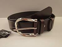 Кожаный ремень GHERARDINI 35 мм коричневый