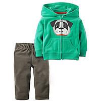 Флисовый комплект 2 в 1 для мальчика Dog Jumping Beans