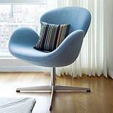 Крестовина для кресла стула ALB-15-В полированный алюминий, фото 3