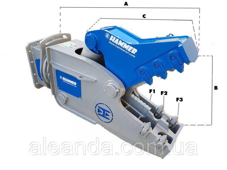 Гидравлическая дробилка Hammer RH12