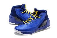 Баскетбольные мужские кроссовки Under Armour Curry 3 SC (Dub Nation Heritage) Реплика