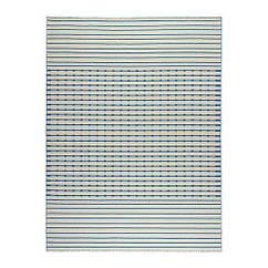 Ковер IKEA TJÄREBY 170x240 см безворсовый ручная работа синий 302.517.42