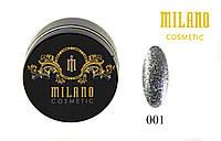 Гель для ногтей Milano Diamond №01