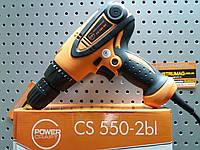Шуруповерт сетевой POWERCRAFT CS 550-2bl