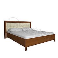 Кровать  «Флора» с профилем и мягкой спинкой. Доставка по Украине. Гарантия качества