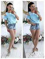 Блуза (Фабричный Китай) ткань коттон х/б