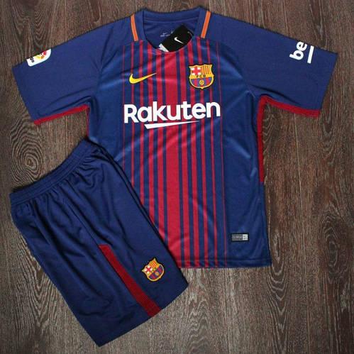 Футбольная форма детская Барселона сезон 2017-18