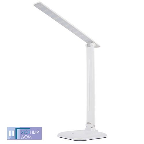 Настольный светодиодный светильник Feron DE1725 белый 6400K