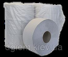 Туалетная бумага Джамбо 1сл. серая