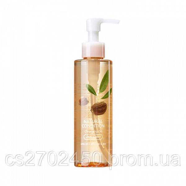 Гидрофильное масло для глубокого очищения (для жирной кожи) The Saem Natural Condition Cleansing Oil Deep Clea
