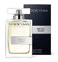 Парфюмированная вода METAL SPORT YODEYMA, 100ml