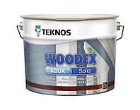 Краска фасадная TEKNOS WOODEX AQUA SOLID  0.9л