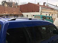 Volkswagen Caddy 2015+ Рейлинги хром на крышу Skyport на макси базу
