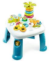 Детский игровой стол Smoby Cotoons Цветочек Синий (211169)