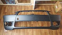 Передний бампер Mitsubishi Lancer X (10) 07-12, черный(Tong Yang) - уценка