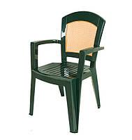 Кресло Afrodit темно-зеленое (Papatya-TM)