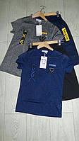 Летние костюмы для мальчиков с трикотажными шортами,подростковые