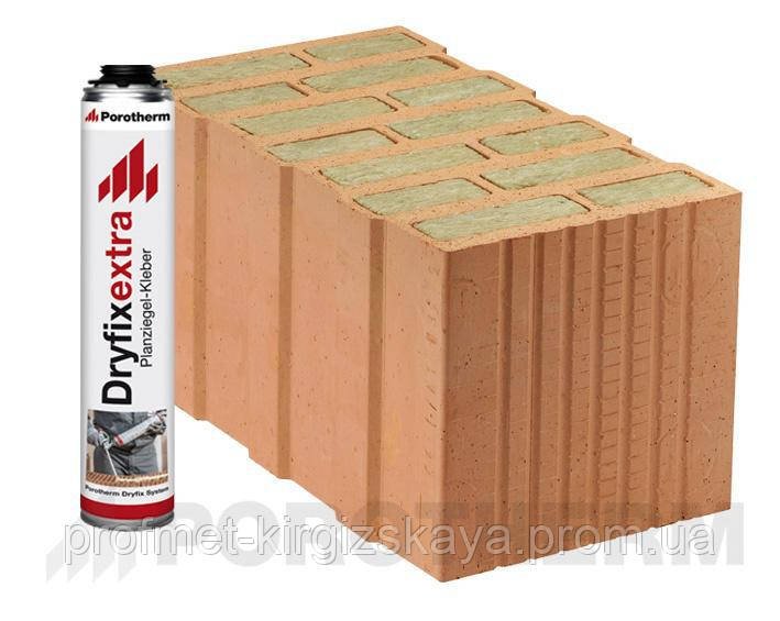 Кирпич Porotherm 44 T Dryfix