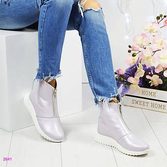"""Демисезонные ботинки """" Стайл""""."""