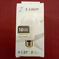 Лампа LED Z-Light 10W 4000k E-27