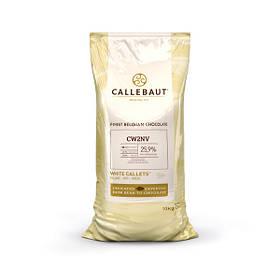 Barry Callebaut CW2NV-554 Білий шоколад (з натуральною ваніллю сорту Bourbon), по 10 кг