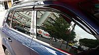 Hyundai Tucson Ветровики 4 шт Perflex Sport