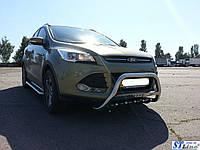 Ford Kuga 2013 Кенгурятник WT004 (нерж.)