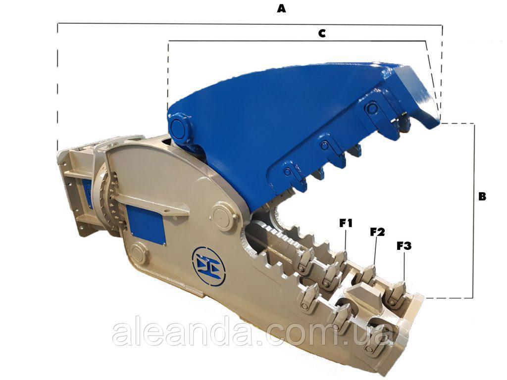 Гидравлическая дробилка Hammer RH50