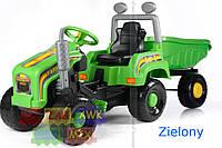 Детский трактор на педалях+прицеп