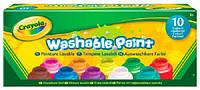 Краски для малышей Crayola 10 цветов (54-1205)