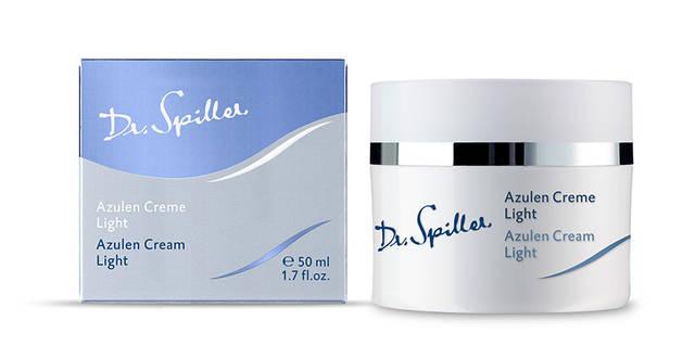 Легкий успокаивающий крем для чувствительной кожи с азуленом, 50 ml