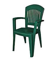 Кресло Aspendos темно-зеленое (Papatya-TM)