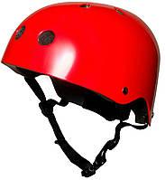 Шлем детский Kiddi Moto размер S 48-53 см, красный металлик (HEL-73-17)