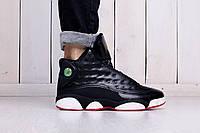 Баскетбольные кроссовки Nike Jordan 13 Retro black-white (найк эир джордан, реплика) (реплика)