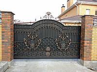 Кованые ворота 0022, фото 1