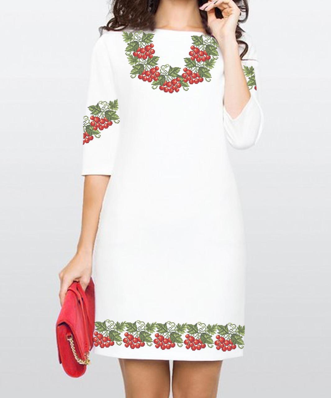 Заготовка жіночого плаття чи сукні для вишивки та вишивання бісером Бисерок  «Україночка» (П-78 )