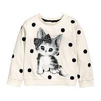 Кофта для девочки Cat Little Maven