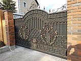 Кованые ворота 0022, фото 2