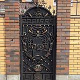 Кованые ворота 0022, фото 3