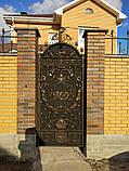 Кованые ворота 0022, фото 4