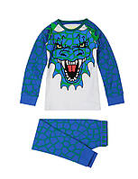 "Детская пижама для мальчика Marks&Spencer ""Дракоша"", размер 2-3 года(98 см)"