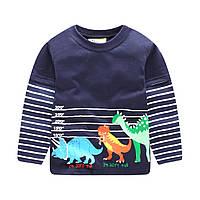 Кофта для мальчика Dinosaurs Jumping Meters
