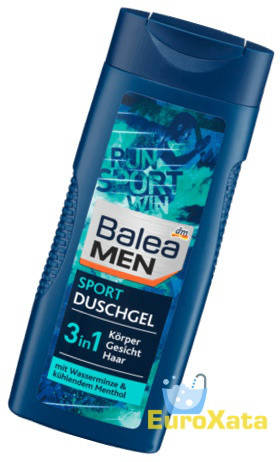 Гель для душа BALEA Men Sport 3 in1 (300мл) Германия