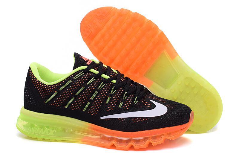 Кроссовки Nike Air Max 2016 Black Orange Volt