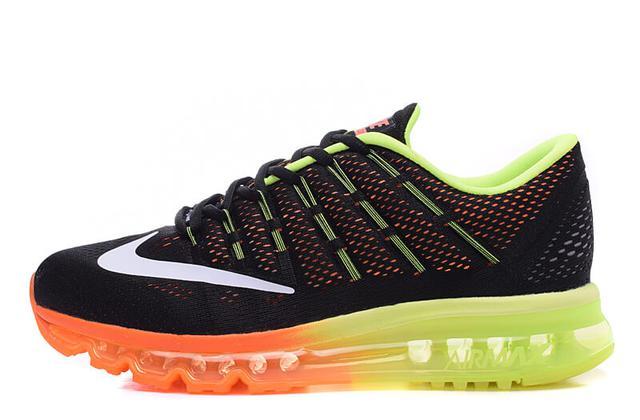 Nike Air Max 2016 Black Orange Volt