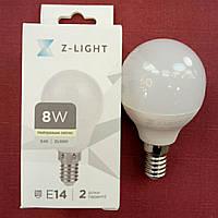 Лампа LED Z-Light G45 8W E-14 4000k