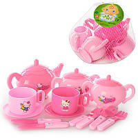 Посуда C 0112Hello Kitty чайный сервиз
