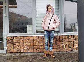 Женская куртка короткая nika (пуховик)