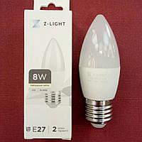 Лампа LED Z-Light G45 8W E-27 4000k